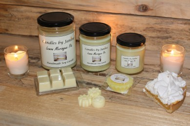 Lemon Meringue Pie Candles,Lemon Meringue Pie Home Candles,Scented Candle,Home candle